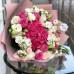 Букет из Гортензии, матиолы и Розы