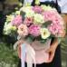 Цветы в граненной коробке